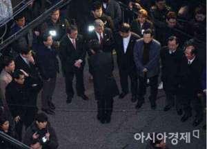 秘书团队集体辞职 青瓦台秘书室室长韩光玉等向黄教安代总统表明辞意