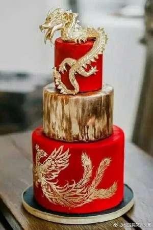 这才是中国该有的蛋糕 网友:简直美得不像话